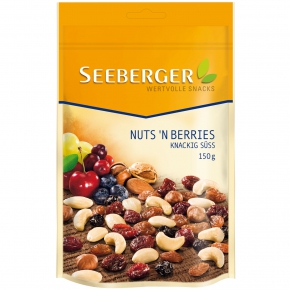 Seeberger Nuts'n Berries 150g