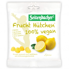 Seitenbacher Frucht Hütchen Zitrone 85g