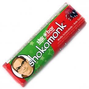 shokomonk starbar Weiße Schokolade Rote Grütze