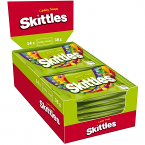 Skittles Crazy Sours 14x38g Sparpack