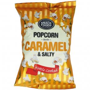 Snack Foods Popcorn Caramel & Salty 65g