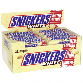 Snickers White 32x49g