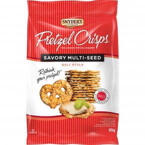 Snyder's Pretzel Crisps Savory Multi-Seed