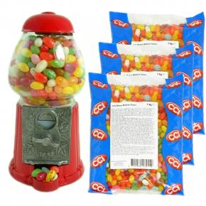 spar set kaugummiautomat 3kg jelly beans online kaufen. Black Bedroom Furniture Sets. Home Design Ideas
