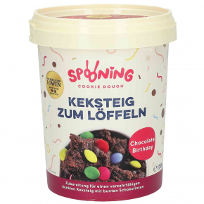 Spooning Cookie Dough Keksteig Chocolate Birthday 170g