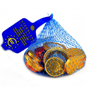 Stereo Schokomünzen im Netz