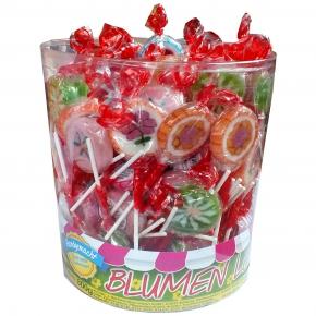Sweet'n Fun Blumen-Lolly 100er