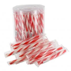 Sweetz Mini-Zuckerstange Erdbeere 75er Dose
