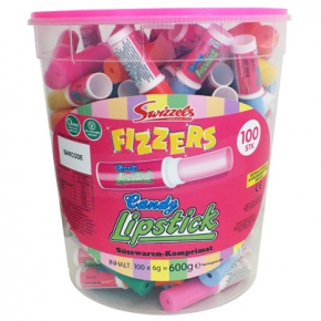 Swizzels Fizzers Candy Lipstick 100er Sparpack
