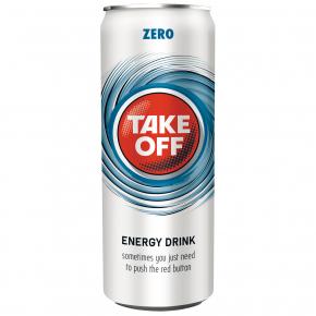 Take Off Energy Drink Zero 330ml