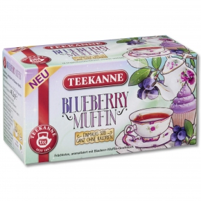 Teekanne Blueberry Muffin 18er