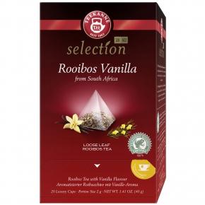 Teekanne selection Rooibos Vanilla 20er
