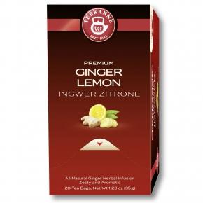 Teekanne Premium Ingwer Zitrone 20er