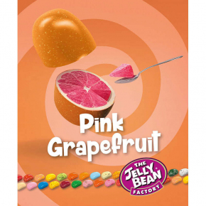 The Jelly Bean Factory Gourmet Pink Grapefruit 100g