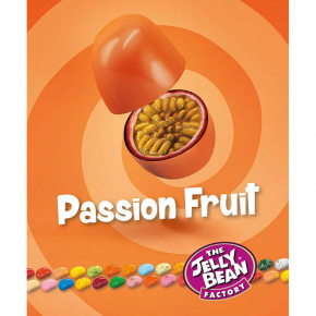 The Jelly Bean Factory Gourmet Passion Fruit 100g
