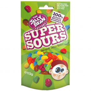 The Jelly Bean Factory Gourmet Super Sours 113g