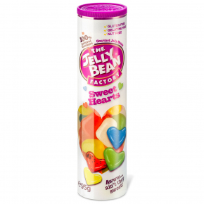 The Jelly Bean Factory Gourmet Sweet Hearts 95g