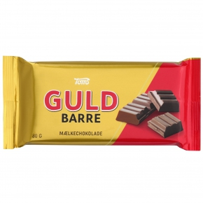 Toms Guld Barre Mælkechokolade