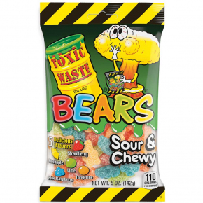 Toxic Waste Bears Sour & Chewy 142g