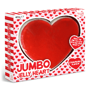 Treat Factory Jumbo Jelly Heart 400g