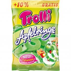 Trolli Apfelringe + 10% gratis