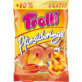 Trolli Pfirsichringe + 10% gratis