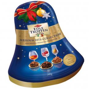 Trumpf Edle Tropfen in Nuss Weihnachts-Collection Glocke 300g