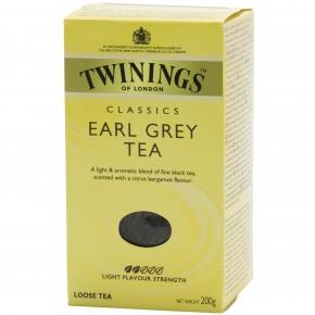 Twinings Classics Earl Grey Tea 200g
