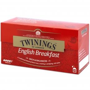 Twinings English Breakfast 25er