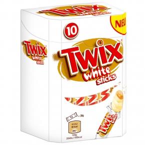 Twix White Sticks 10er