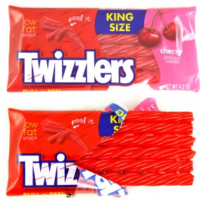 Twizzlers Pull'n'Peel Cherry Candy King Size