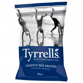 Tyrrells lightly sea salted 40g
