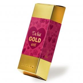 """Viba Goldbarren """"Du bist GOLD wert"""" 180g"""