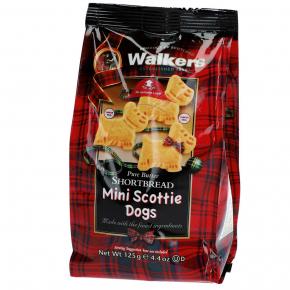 Walkers Pure Butter Shortbread Mini Scottie Dogs 125g
