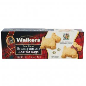 Walkers Pure Butter Shortbread Scottie Dogs 110g