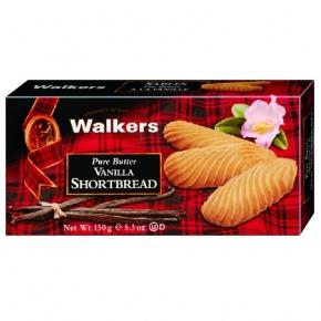 Walkers Pure Butter Vanilla Shortbread 150g