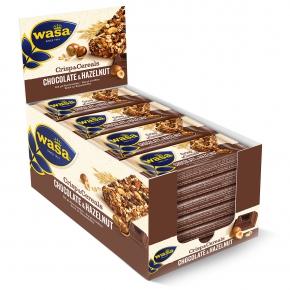 Wasa Crisp & Cereals Chocolate & Hazelnut 24er