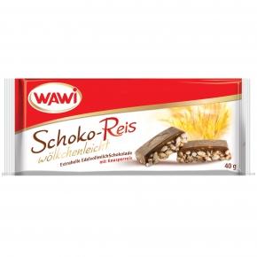 Wawi Schoko-Reis wölkchenleicht 40g