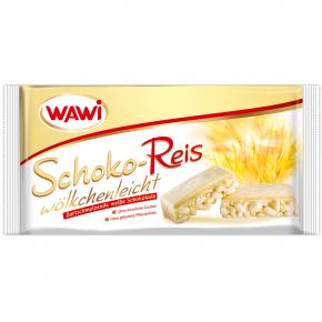Wawi Schoko-Reis wölkchenleicht Weiße Schokolade 200g