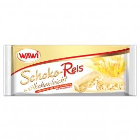 Wawi Schoko-Reis Weiße Schokolade 40g