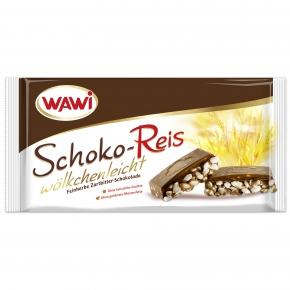 Wawi Schoko-Reis wölkchenleicht Zartbitter 200g