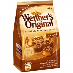 Werther's Original Schokoladen-Spezialität Karamell 153g