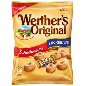Werther's Original Sahnebonbons zuckerfrei 70g