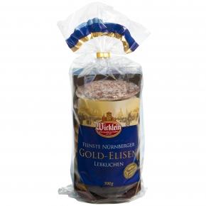 Wicklein Feinste Nürnberger Gold-Elisen-Lebkuchen 500g
