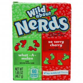 Wonka Nerds Watermelon & Wild Cherry 46,7g