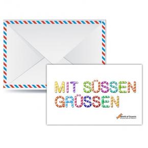 worldofsweets.de Geschenkgutschein-Karte € 50,-