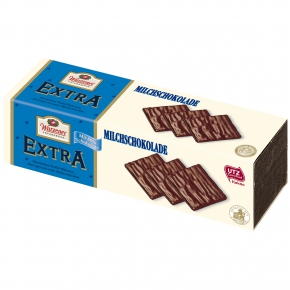Wurzener Extra Waffel-Blättchen Milchschokolade