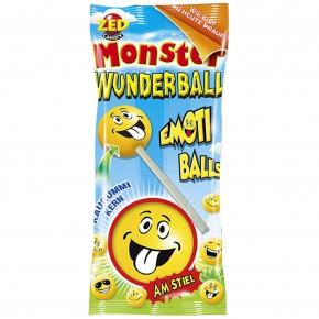 ZED Candy Monster Wunderball am Stiel Emoti Balls
