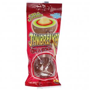 ZED Candy Jawbreaker on a Stick Cola 60g