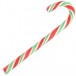 Zuckerstange rot/grün/weiß 17cm